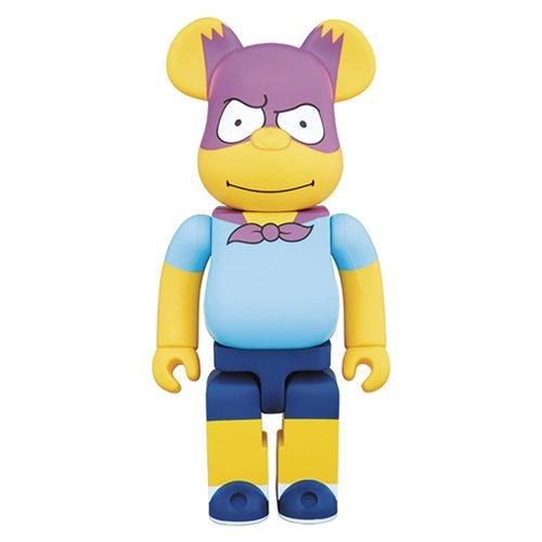 The Simpsons - Bartman 100% Bearbrick Figure