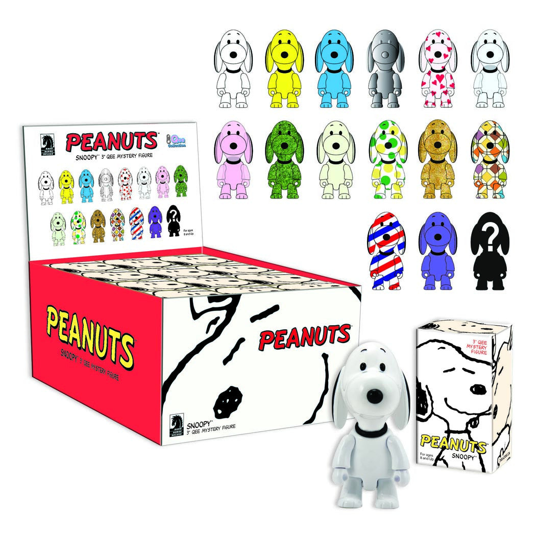 "Snoopy Qee 3"" Mystery Box Series 1"