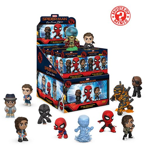Marvel Spider-Man: Far From Home Mystery Minis
