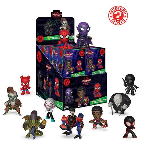 Spider-Man: Into the Spider-Verse Mystery Minis