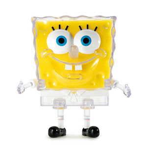 "Sea Sponge SpongeBob 8"" Art Toy Figure - Clear Edition"