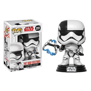POP! The Last Jedi: First Order Executioner Bobble Head Vinyl Figure