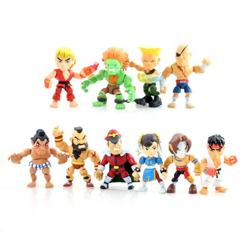 Street Fighter Blind Box Case of 16