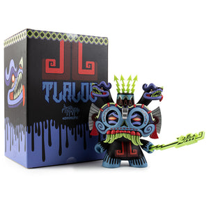 "Tlaloc 8"" Dunny - Blue Edition"