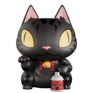 "Toshi Neko Series: Alley Kat 4"" Vinyl Art Collectible"