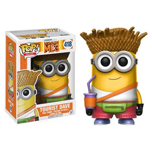 POP! Despicable Me 3: Tourist Dave Vinyl Figure