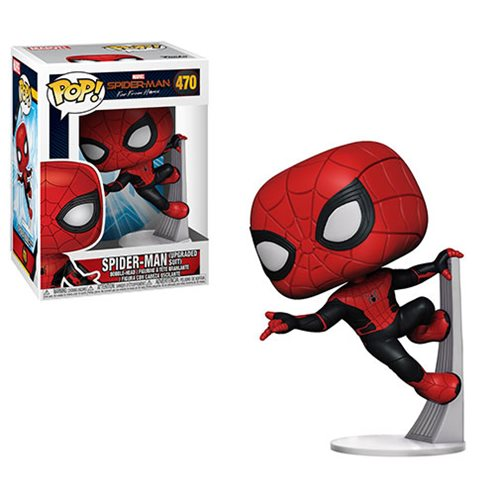POP! Marvel - Spider-Man Far From Home: Upgraded Suit Spider-Man #470