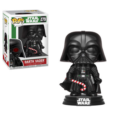 POP! Star Wars - Holiday: Darth Vader w/ Candy Cane #279