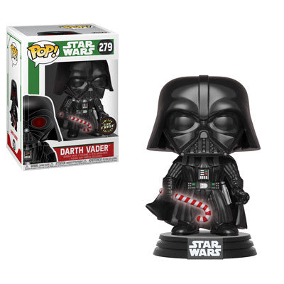 POP! Star Wars - Holiday: Darth Vader w/ Candy Cane Chase #279