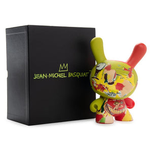 "Jean-Michel Basquiat Masterpiece Legacy 8"" Dunny - Wine of Babylon"