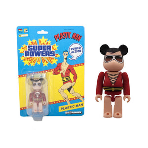 DC Super Powers Plastic Man Bearbrick - San Diego Comic-Con 2012 Exclusive