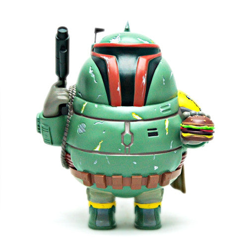 Chunky Bounty Hunter: Boba Fet Art Collectible