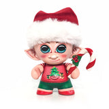 "Jingle the Elf - Custom 4"" Munny"