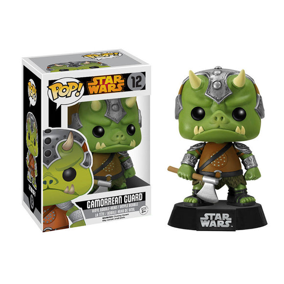 POP! Star Wars: Gamorrean Guard Bobble Head Vinyl Figure