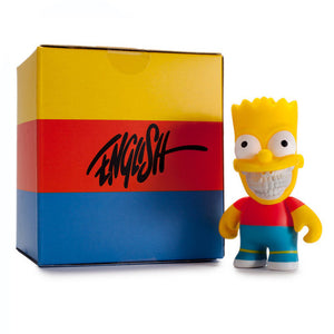 "The Simpsons Bart Grin 3"" Vinyl Figure"