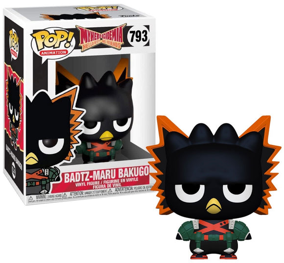 POP! Animation - My Hero Academia x Hello Kitty and Friends: Badtz-Maru Bukugo #793