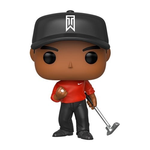 POP! Golf - Tiger Woods: Tiger Woods w/ Red Shirt #01