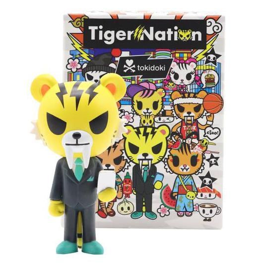 Tiger Nation Blind Box Mini Series