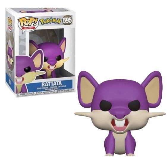 POP! Games - Pokemon: Rattata #595