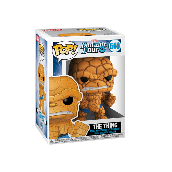 POP! Marvel -  Fantastic Four: The Thing #560