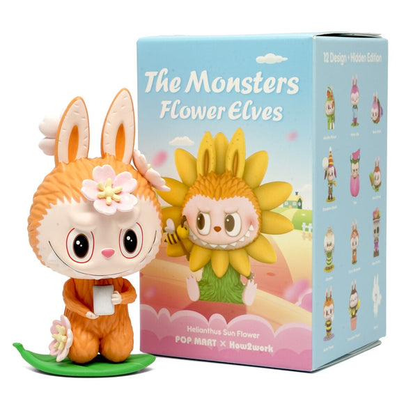 The Monsters Flower Elves Labubu Blind Box Mini Series