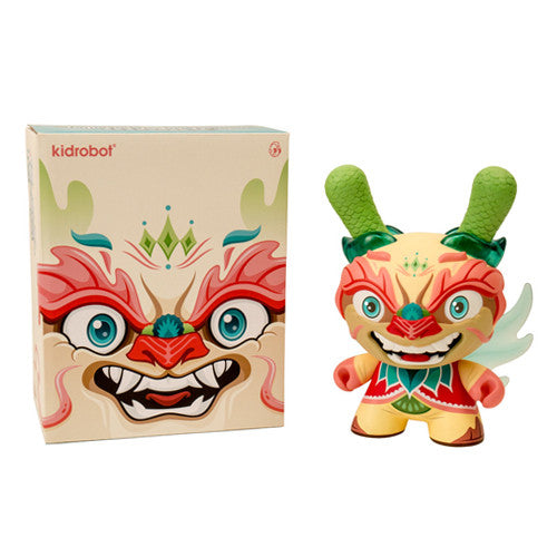 "Imperial Lotus Dragon 8"" Dunny Vinyl Figure"