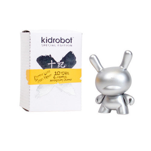 "10th Anniversary 3"" Dunny Figure (Silver)"