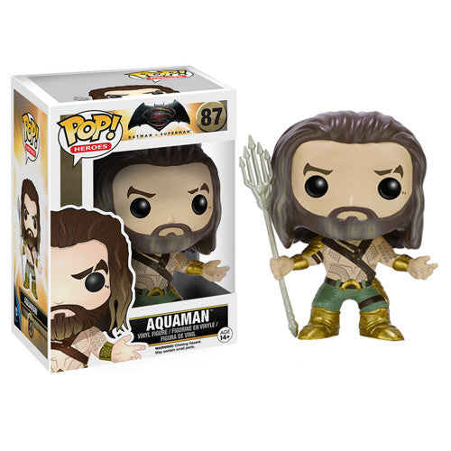 POP! Batman v Superman: Aquaman Vinyl Figure