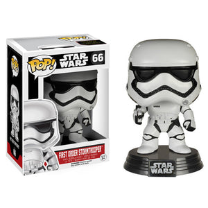 POP! The Force Awakens: First Order Stormtrooper Bobble Head Vinyl Figure