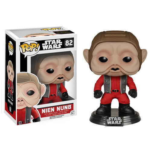 POP! The Force Awakens: Nien Nunb Bobble Head Vinyl Figure