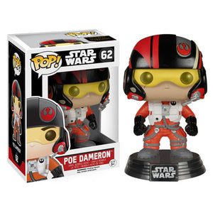 POP! The Force Awakens: Poe Dameron Bobble Head Vinyl Figure