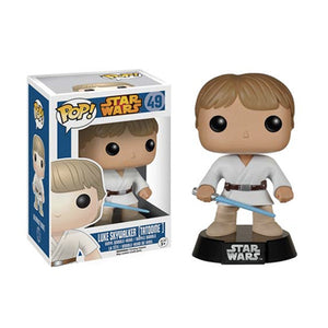 POP! Star Wars: Tatooine Luke Skywalker Bobble Head Vinyl Figure