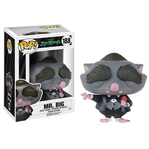 POP! Zootopia: Mr Big Vinyl Figure