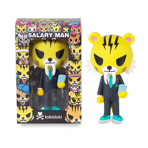"Salary Man Tiger 5.5"" Vinyl Figure"