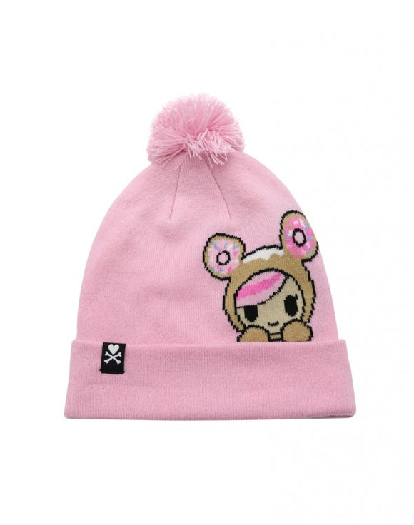 Women's Peeking Pom Knit Beanie