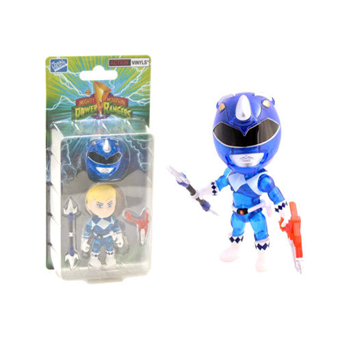 Mighty Morphin' Power Rangers Blue Ranger Crystal Edition Vinyl Figure (2015 SDCC Exclusive)