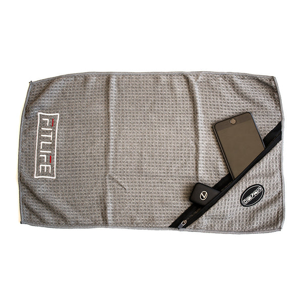 FitLife™ Grey Gym Towel