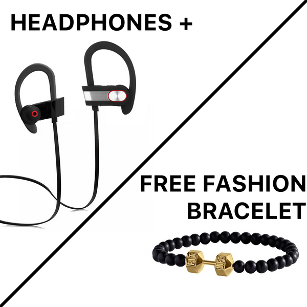 Headphones + Any Fashion Bracelet FREE
