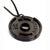 Black Weight Plate Necklace