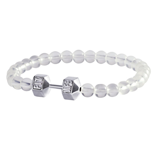 Translucent Dumbbell Bracelet