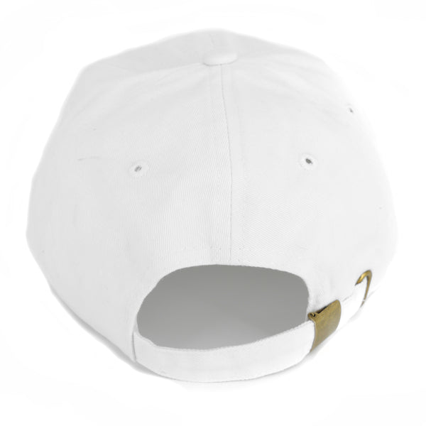 Dad Hat: White