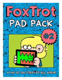 FoxTrot PadPacks by Bill Amend