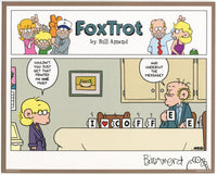 FoxTrot comic strip merch by Bill Amend - Signed Print: Coffee Heart | Coffee, Jason, Roger, Comics