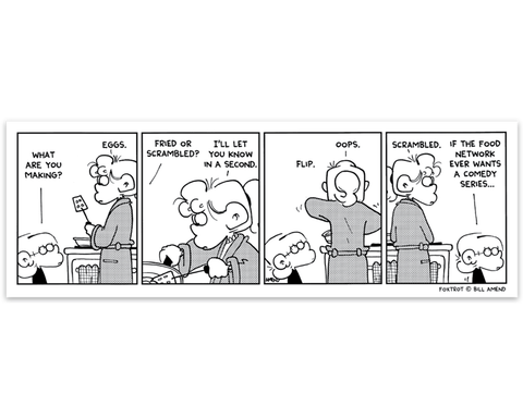 FoxTrot Magnet - 'Scrambled Eggs' Comic Strip by Bill Amend