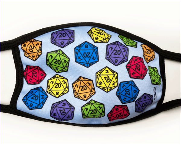 FoxTrot Lucky D20 mask by Bill Amend