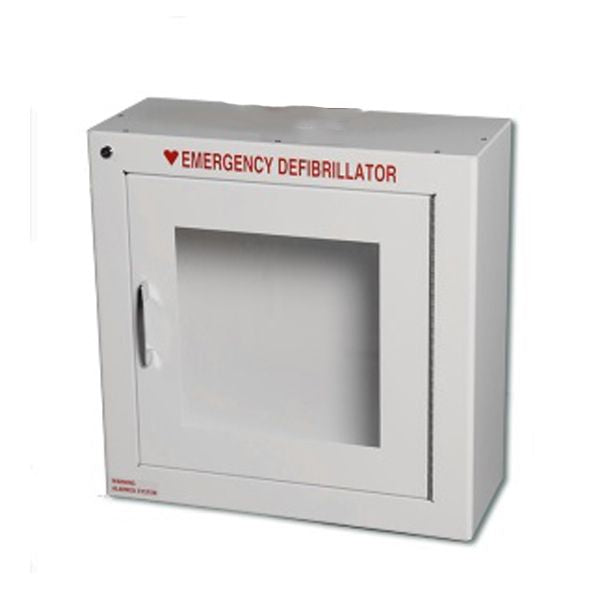 AED Surface Mount Wall Cabinet with Alarm