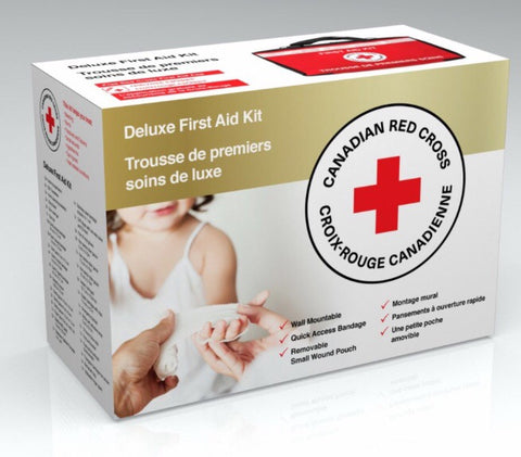 Red Cross Deluxe First Aid Kit