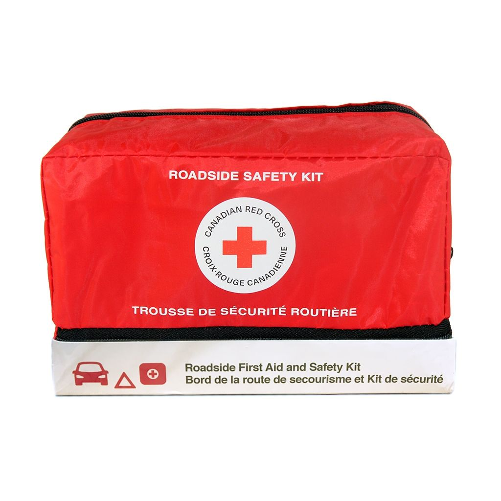 Red Cross Roadside First Aid and Safety Kit