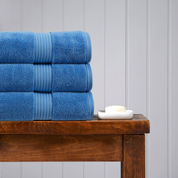 Christy Supreme Hygro Towels - Cadet Blue