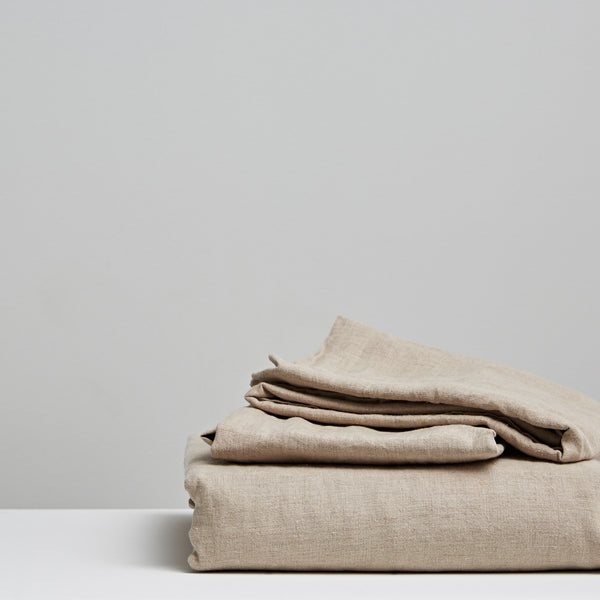 Vida Stonewashed Linen Natural